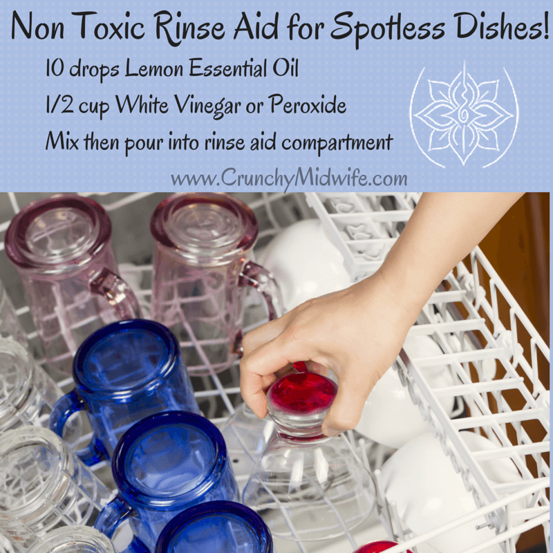 Homemade Dishwasher Rinse Aid