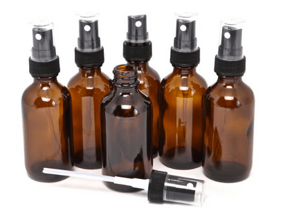 2 oz. Glass Spray Bottles for Essential Oils