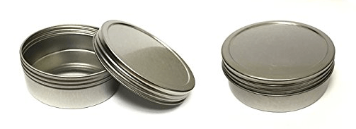 tins for making essential oil salves