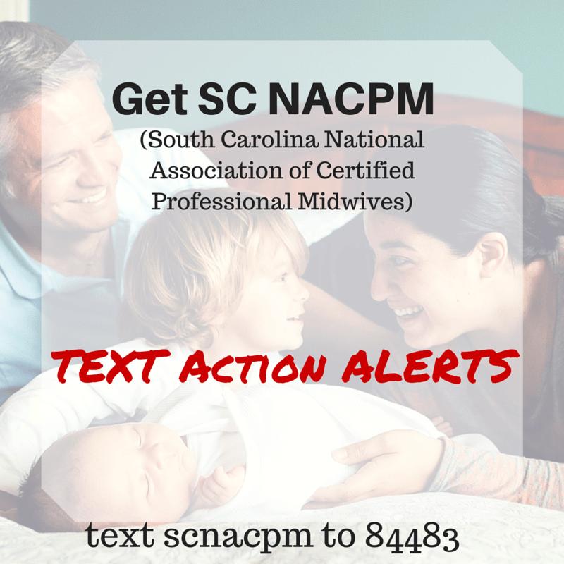 #SaveSCMidwives Text Alerts