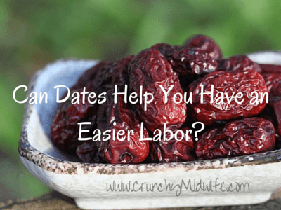 Dates for easier labor